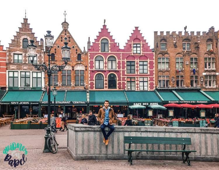 Qué ver y hacer en Brujas en 1 o 2 días: Grote Markt