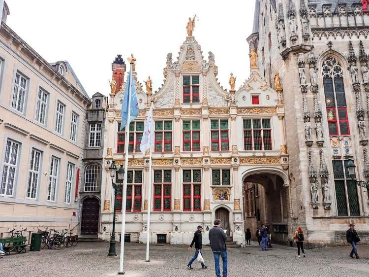 Brugse Vrije (Palacio de la Justicia), Brujas. Bélgica