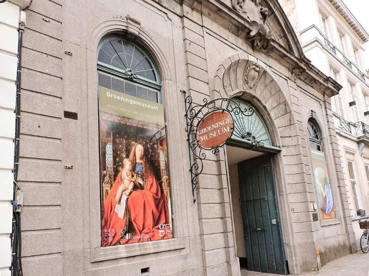 Museo Groeninge en Brujas, Bélgica