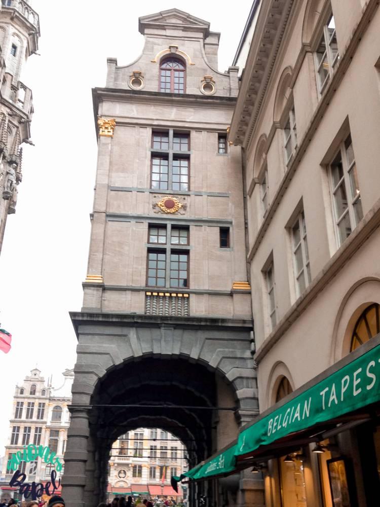 La Casa de la Estrella, Grand Place. Bruselas