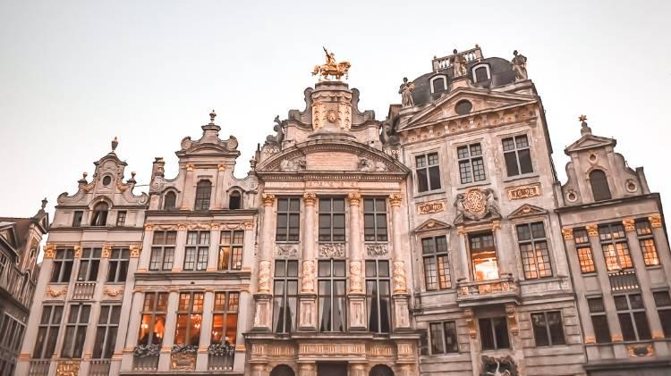 Maison des Brasseurs, Grand Place. Bruselas