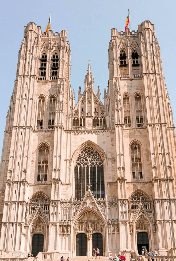 Catedral de Bruselas. Qué ver y hacer en Bruselas en 2 días