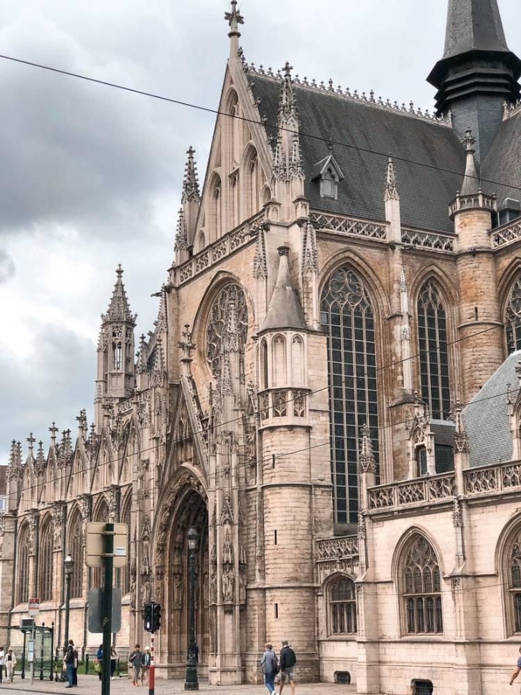 Iglesia Católica Notre Dame du Sablon, Bruselas