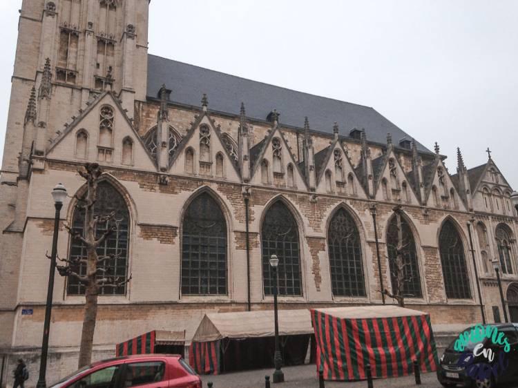 Qué ver y hacer en Bruselas en 2 días: Iglesia Notre Dame de la Chapelle