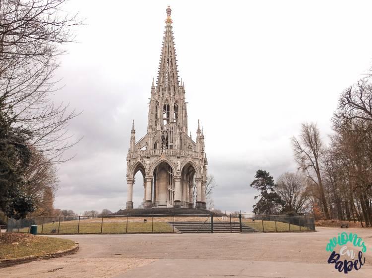 Monumento a Leopoldo I en el Parque de Laeken, Bruselas