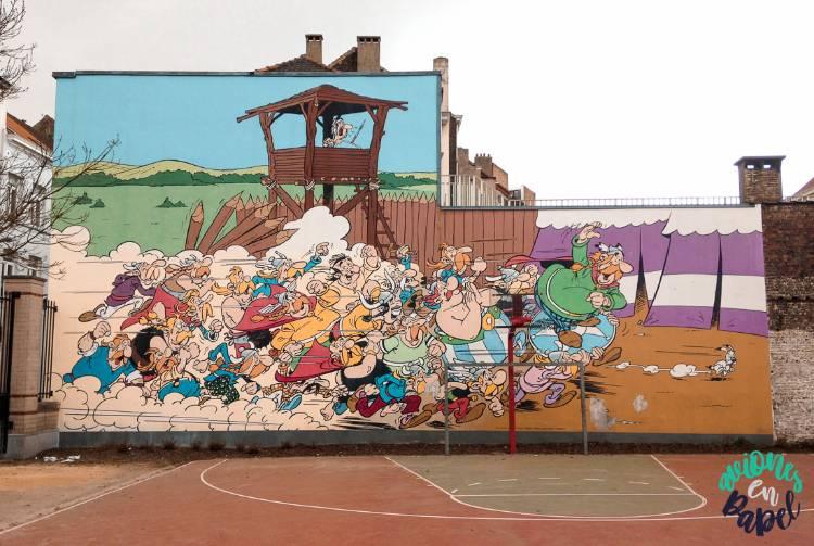 Cómic Asterix y Obelix. Qué ver y hacer en Bruselas en 2 días