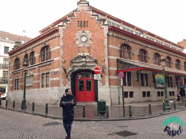 Qué ver y hacer en Bruselas en 2 días: Mercado de Saint-Géry