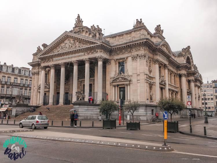 Palacio de la Bolsa: Qué ver y hacer en Bruselas en 2 días