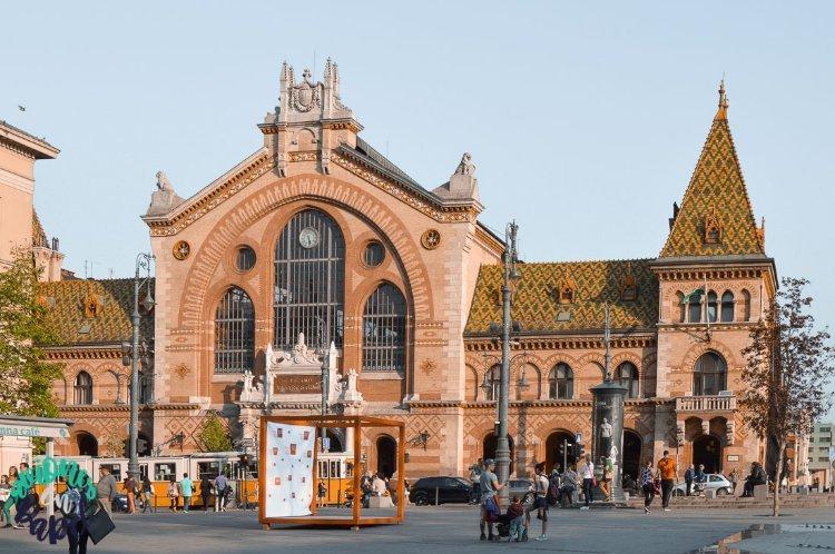 Qué ver y hacer en Budapest en 4 días: Mercado Central
