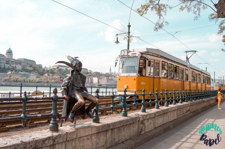 Little Princess Statue, El Duende (Budapest)