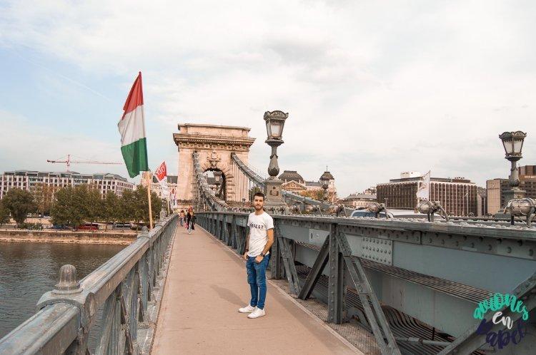 Qué ver y hacer en Budapest en 4 días: Puente de las Cadenas