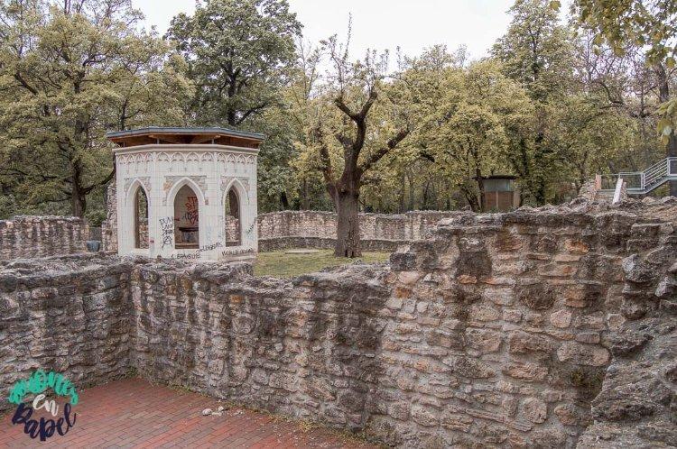 Ruinas del Convento Dominico de Santa Margarita, Budapest