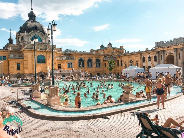 Balneario Széchenyi: Qué ver y hacer en Budapest en 4 días