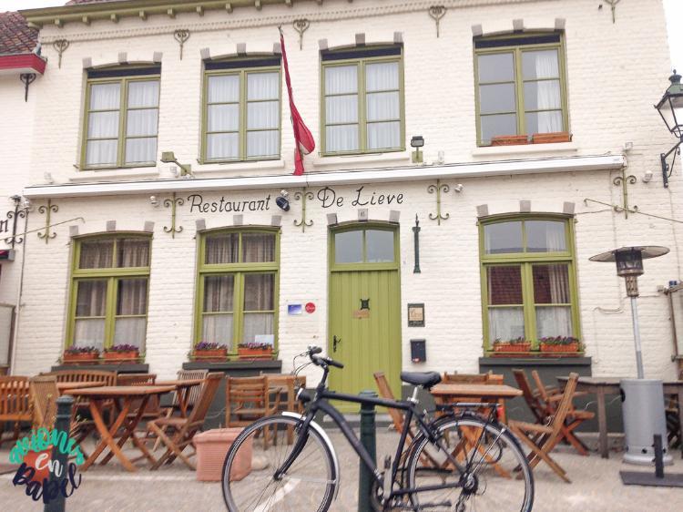 Cafe en Damme en el Restaurante De Lieve