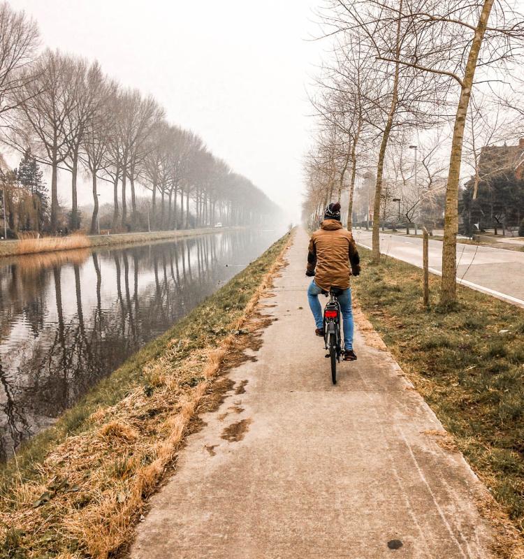 Excursión a Damme en bicicleta desde Brujas