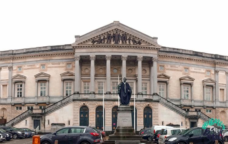 Antiguo Palacio de Justicia de Gante, Bélgica