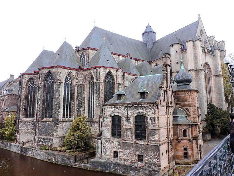 Qué ver y hacer en Gante en un día: Iglesia de San Miguel