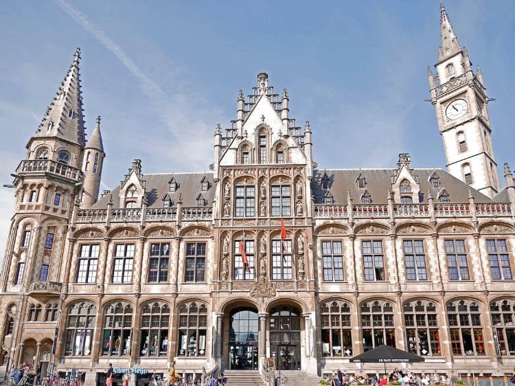 Oficina de Corres de Gante, Bélgica
