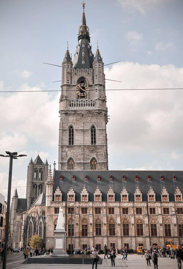 Campanario: Qué ver y hacer en Gante en un día