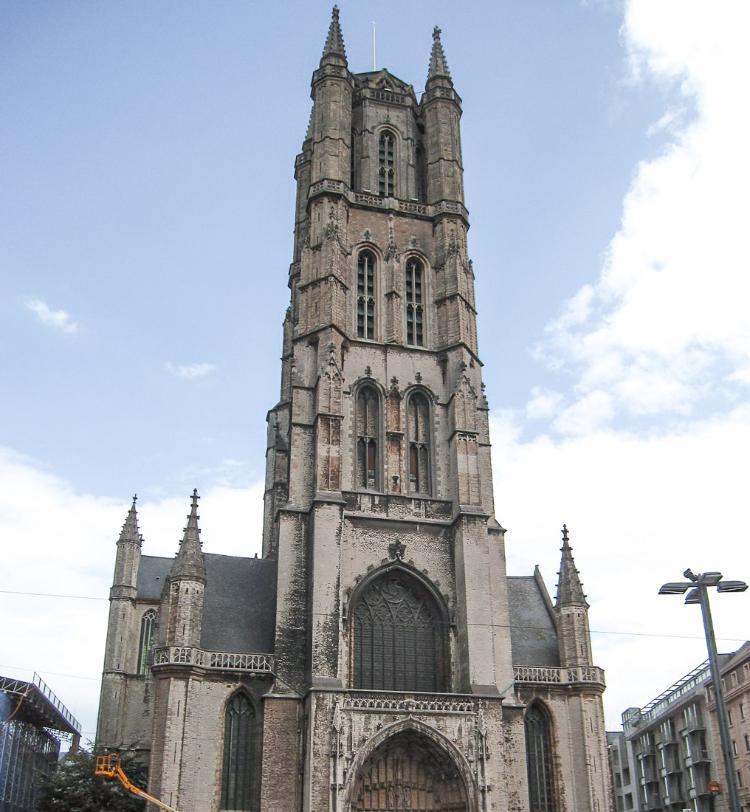 Catedral de San Bavón. Qué ver y hacer en Gante en un día