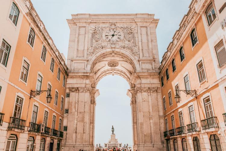 Qué ver y hacer en Lisboa en 3 días. Arco de la Rua Augusta