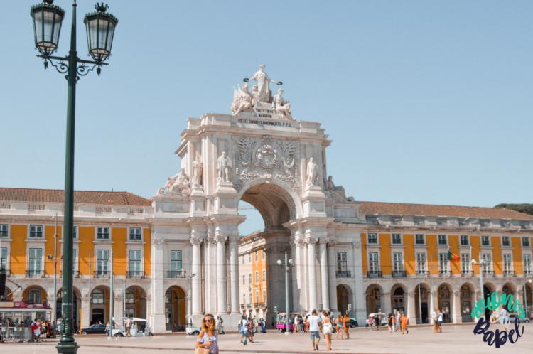 Qué ver y hacer en Lisboa en 3 días - Praça do Comercio