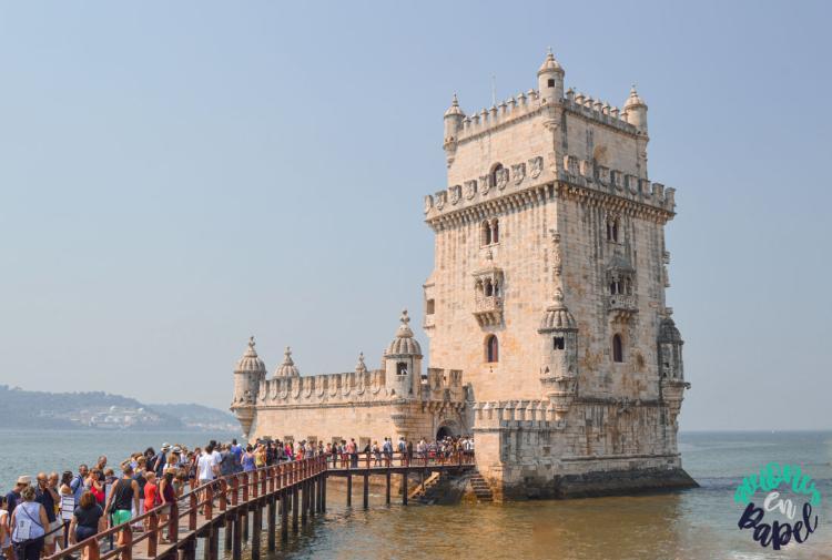 Torre de Belem. Qué ver y hacer en Lisboa en 3 días