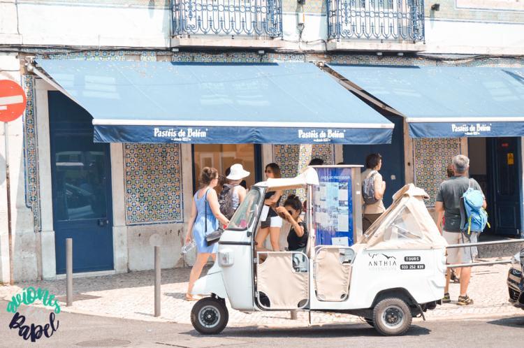Tienda Pasteis de Belém en Lisboa