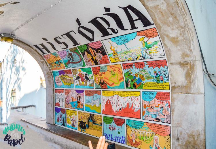 Cómic de la Historia de Lisboa
