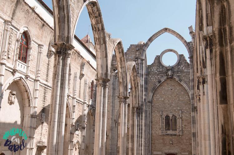 Convento do Carmo - Qué ver y hacer en Lisboa en 3 días