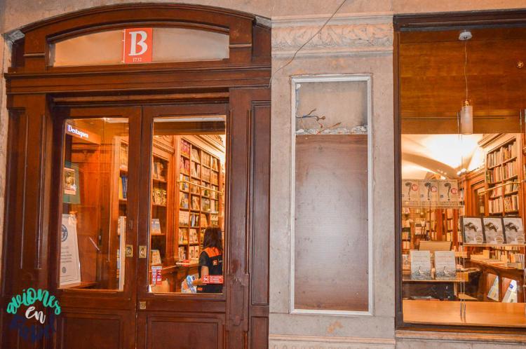 La librería más antigua de Europa, Bertrand, Lisboa