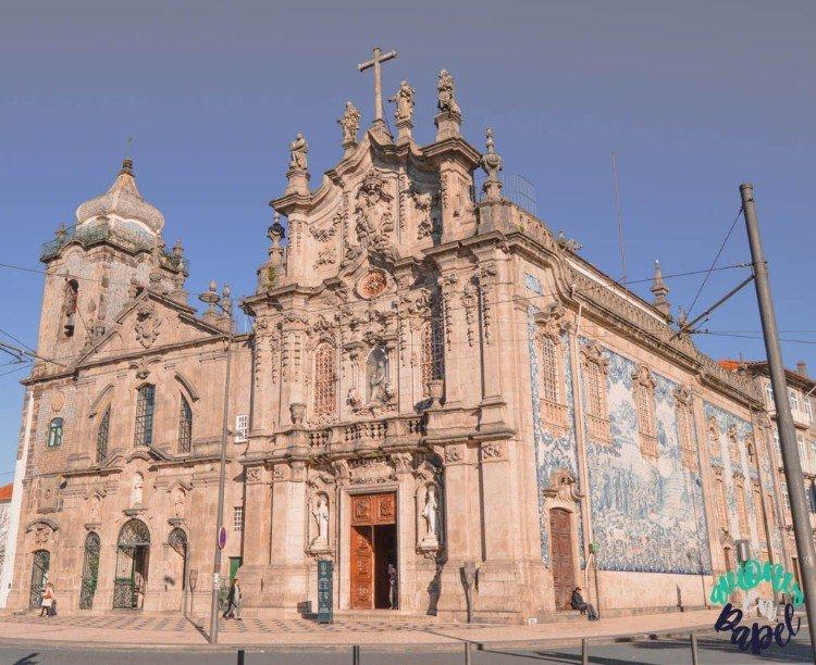 Edificio Iglesia del Carmen, Oporto