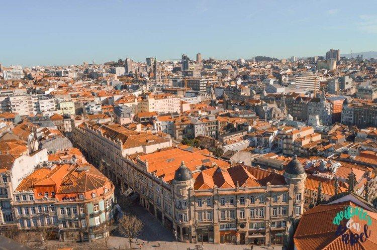 Vistas desde la Torre de los Clérigos, Oporto