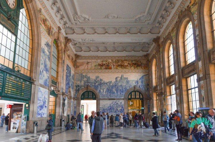 Qué ver y hacer en Oporto en 3 días - Estación San Bento