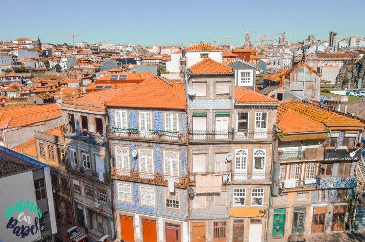 Mirador en el lateral de la Casa de la Sé, Oporto