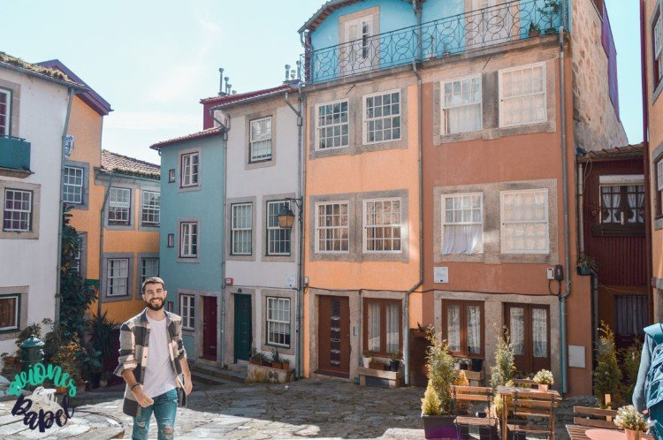 Plaza en el Barrio de la Sé. Qué ver y hacer en Oporto en 3 días