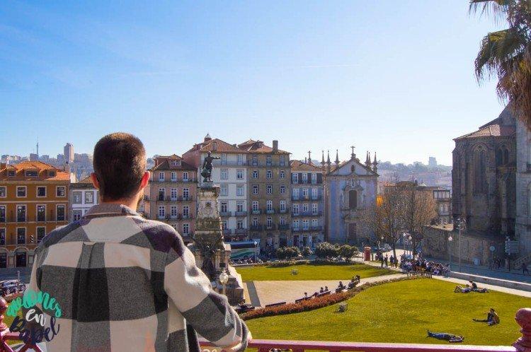 Vistas desde el Mercado Ferreira Borge, Oporto