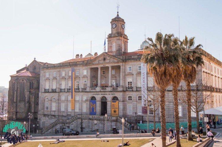 Qué ver y hacer en Oporto en 3 días. Palacio de la Bolsa