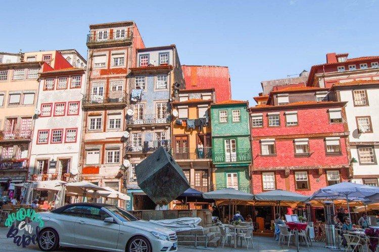 Qué ver y hacer en Oporto en 3 días: Plaza da Ribeira