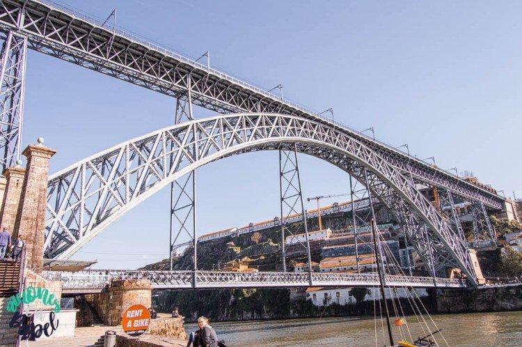 Puente de Don Luis I. Qué ver y hacer en Oporto en 3 días