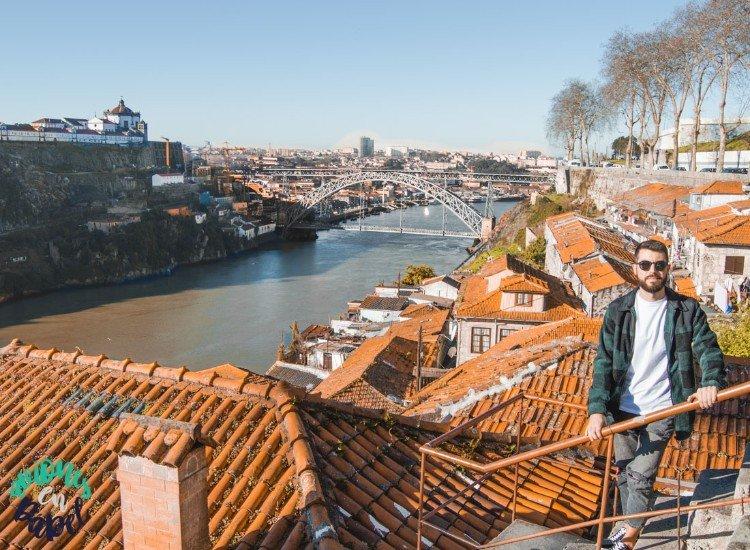 Miradouro das Passeio das Fontainhas. Qué ver y hacer en Oporto en 3 días