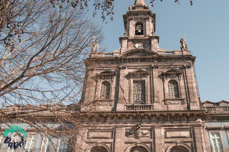 Iglesia de la Trindade, Oporto