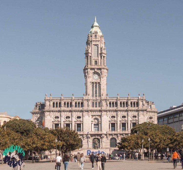 Qué ver y hacer en Oporto en 3 días - Ayuntamiento de Oporto