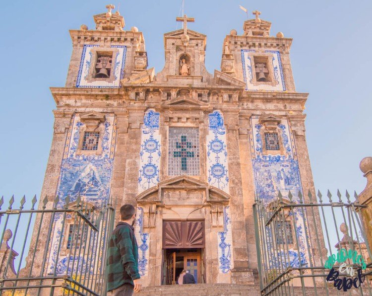Iglesia de San Idelfonso - Qué ver y hacer en Oporto en 3 días