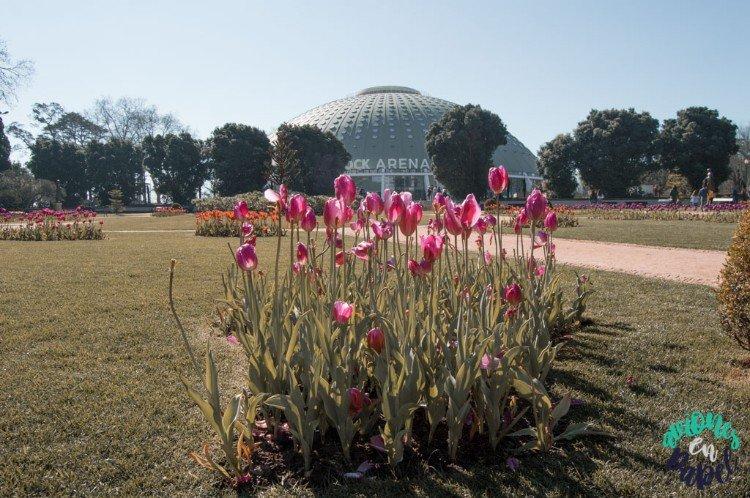 Pabellón Rosa Mota en los Jardines del Palacio de Cristal