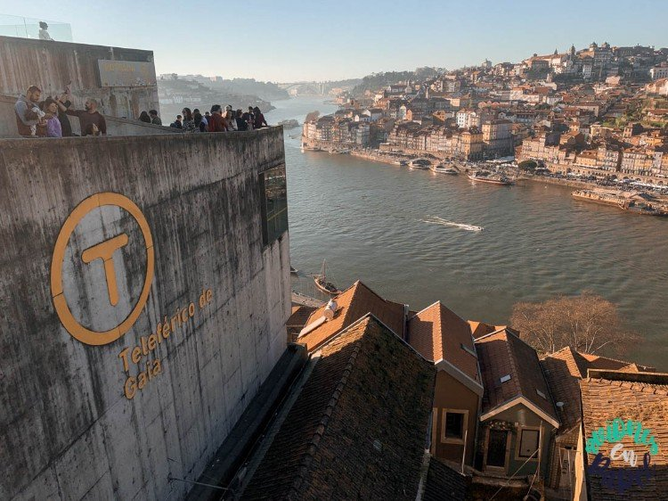 Qué ver y hacer en Oporto en 3 días - Teleférico de Gaia