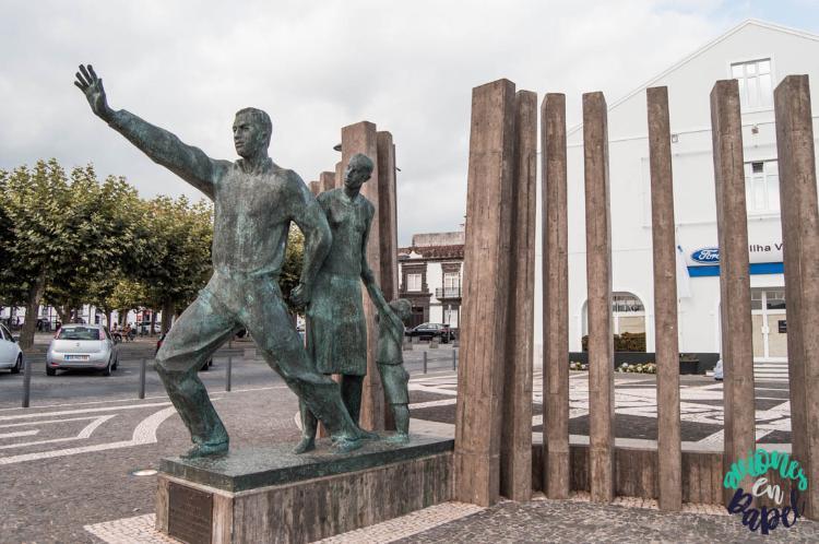 Monumento al Emigrante, Ponta Delgada. Sao Miguel
