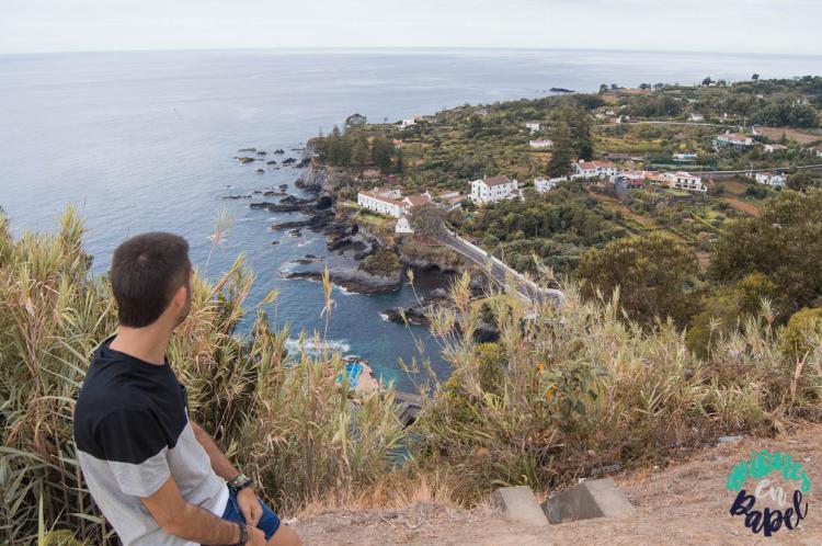 Miradouro do Pisao, Sao Miguel (Islas Azores)