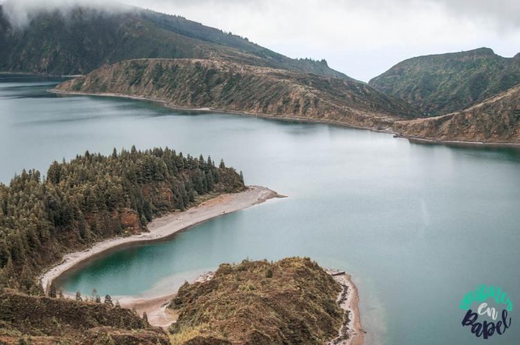Miradouro qué ver en Sao Miguel en 7 días: Lagoa do Fogo