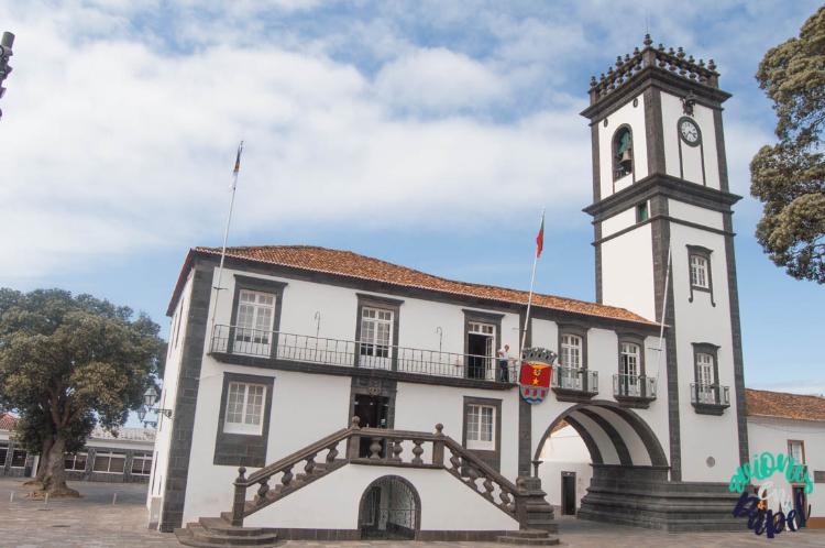 Ayuntamiento Ribeira Grande, Sao Miguel (Islas Azores)